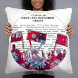Thank you Defenders - Basic Pillow - Thank You First Defenders / Responders