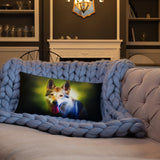 German Shepherd Neon - Basic Pillow - ArtOnAll