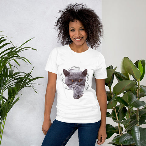 British Shorthair - Short-Sleeve Unisex T-Shirt