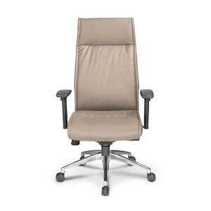 Alto High Back Executive Sand Leather* Chair