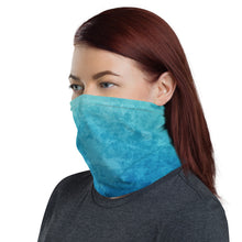 Load image into Gallery viewer, Blue Water Neck Gaiter