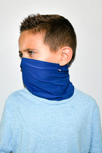 Load image into Gallery viewer, Blue Neck Gaiter - Youth
