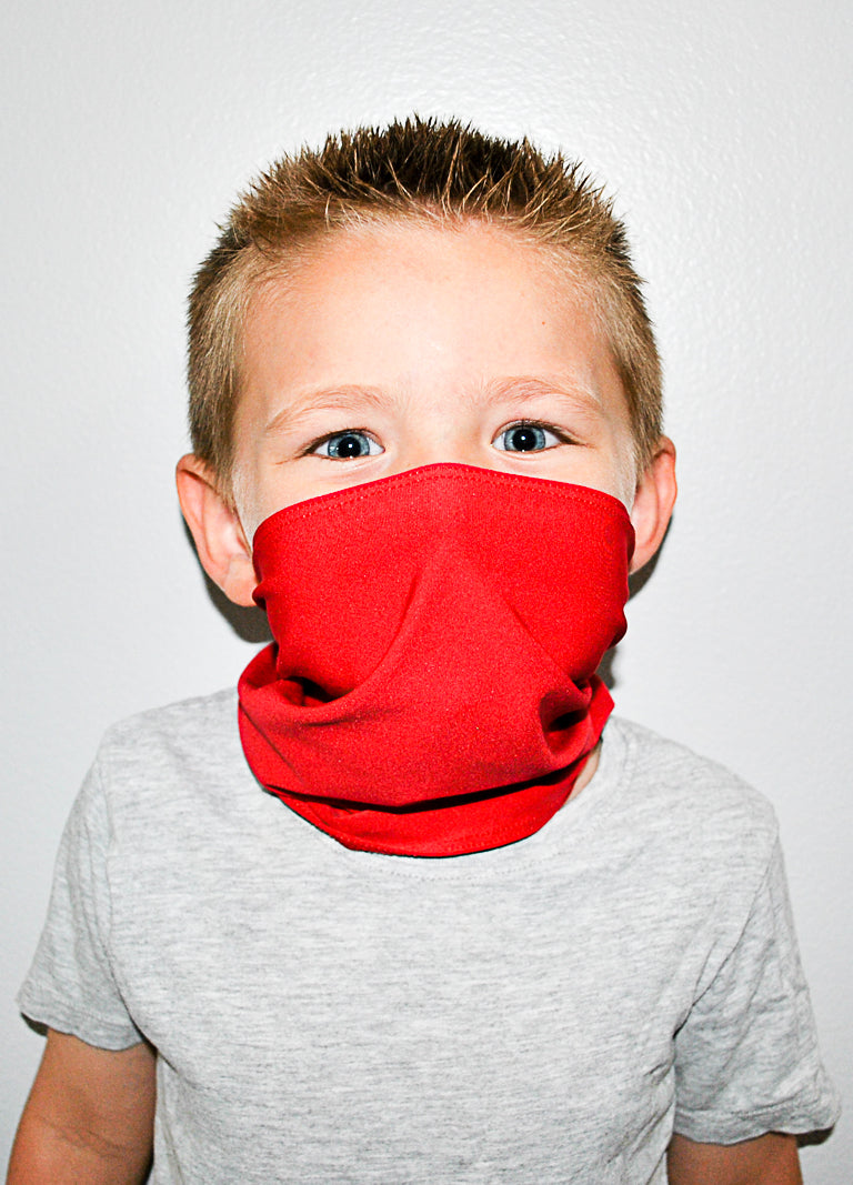 Red Neck Gaiter - Youth