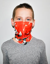 Load image into Gallery viewer, Orange Multi Neck Gaiter - Youth