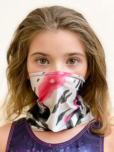 Pink Multi Neck Gaiter - Youth
