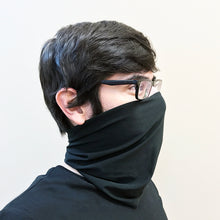 Load image into Gallery viewer, Black Neck Gaiter - Adult