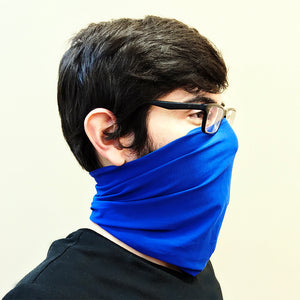 Blue Neck Gaiter - Adult