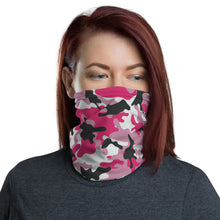 Load image into Gallery viewer, Pink Camo Neck Gaiter