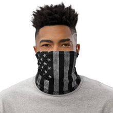Load image into Gallery viewer, Black Out Flag Neck Gaiter