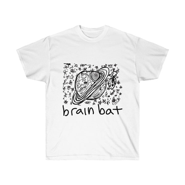 planets art t-shirt by brainbat