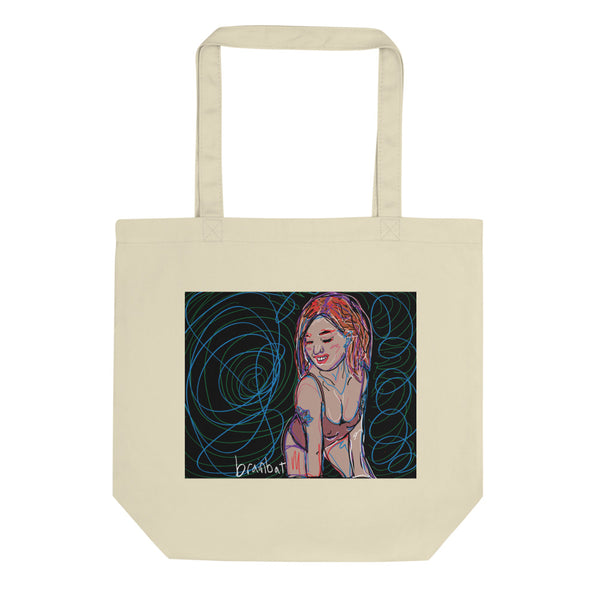 bellajean art tote bag by brainbat