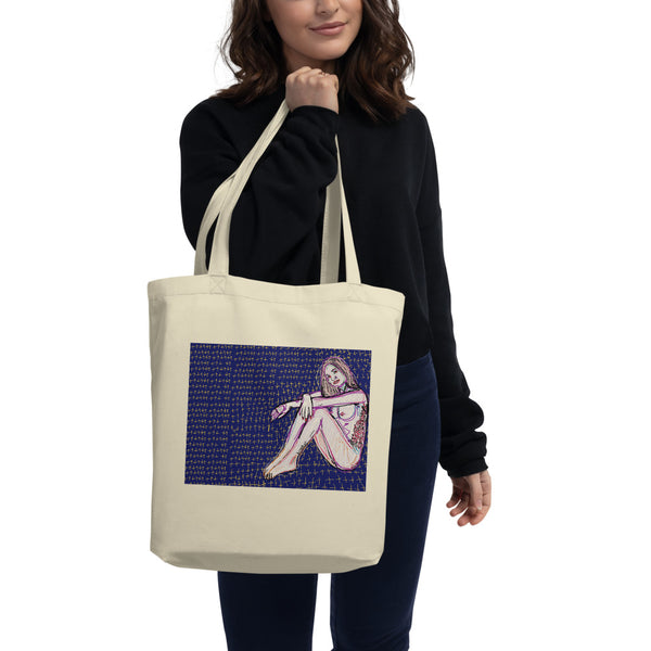 Kosima Kush art tote by brainbat