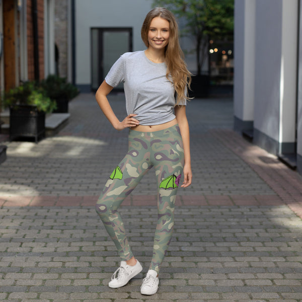 brainbat camo yoga leggings