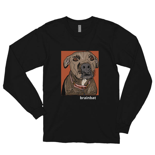 kona the barbarian long-sleeve shirt by brainbat