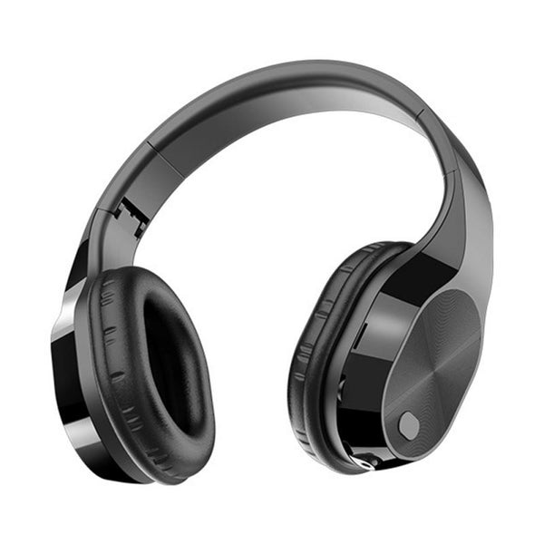 1pcs T5 HiFi Active Noise Cancelling Wireless Bluetooth 5.0 Headphones Portable Headset with mic for mobilephones music