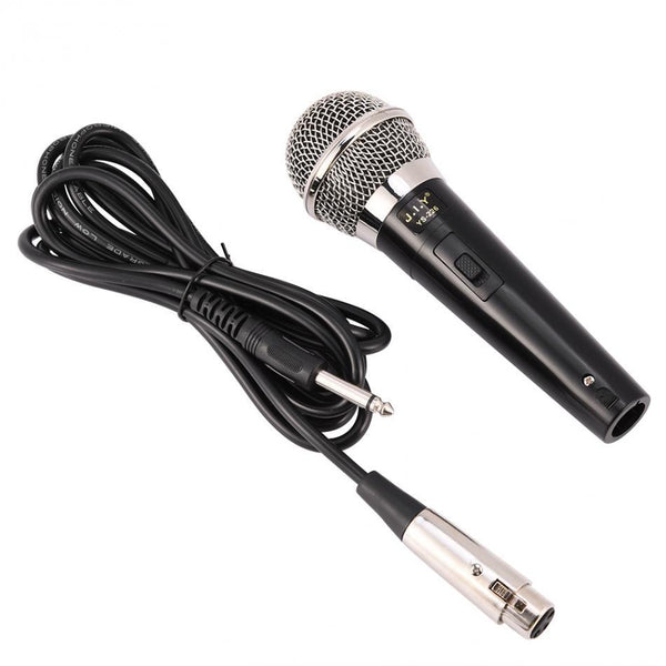 Professional Handheld Wired Dynamic Microphone Clear Voice For Karaoke Vocal Music Performance R20