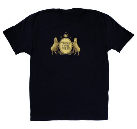 Short Sleeve T-Shirt / Gold Background