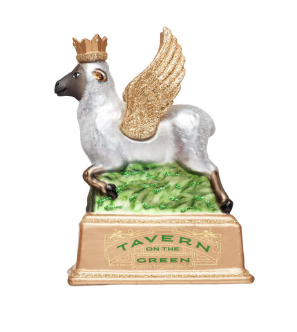 Tavern on the Green Winged Sheep Ornament