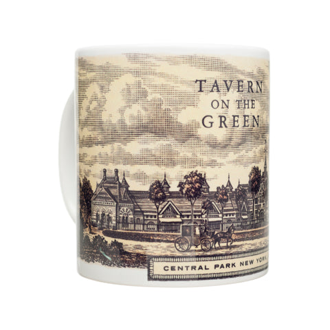 Tavern on the Green Antique Print Coffee Mug