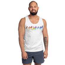 "Load image into Gallery viewer, David Hernandez ""I AM WHO I AM"" Pride Edition Tank top"