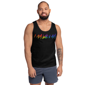 "David Hernandez ""I AM WHO I AM"" Pride Edition Tank top"