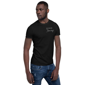 "David Hernandez ""Beautiful"" Short-Sleeve Unisex T-Shirt"