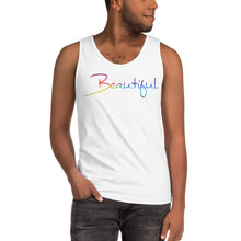 "Load image into Gallery viewer, David Hernandez ""Beautiful"" Pride Edition Tank top"