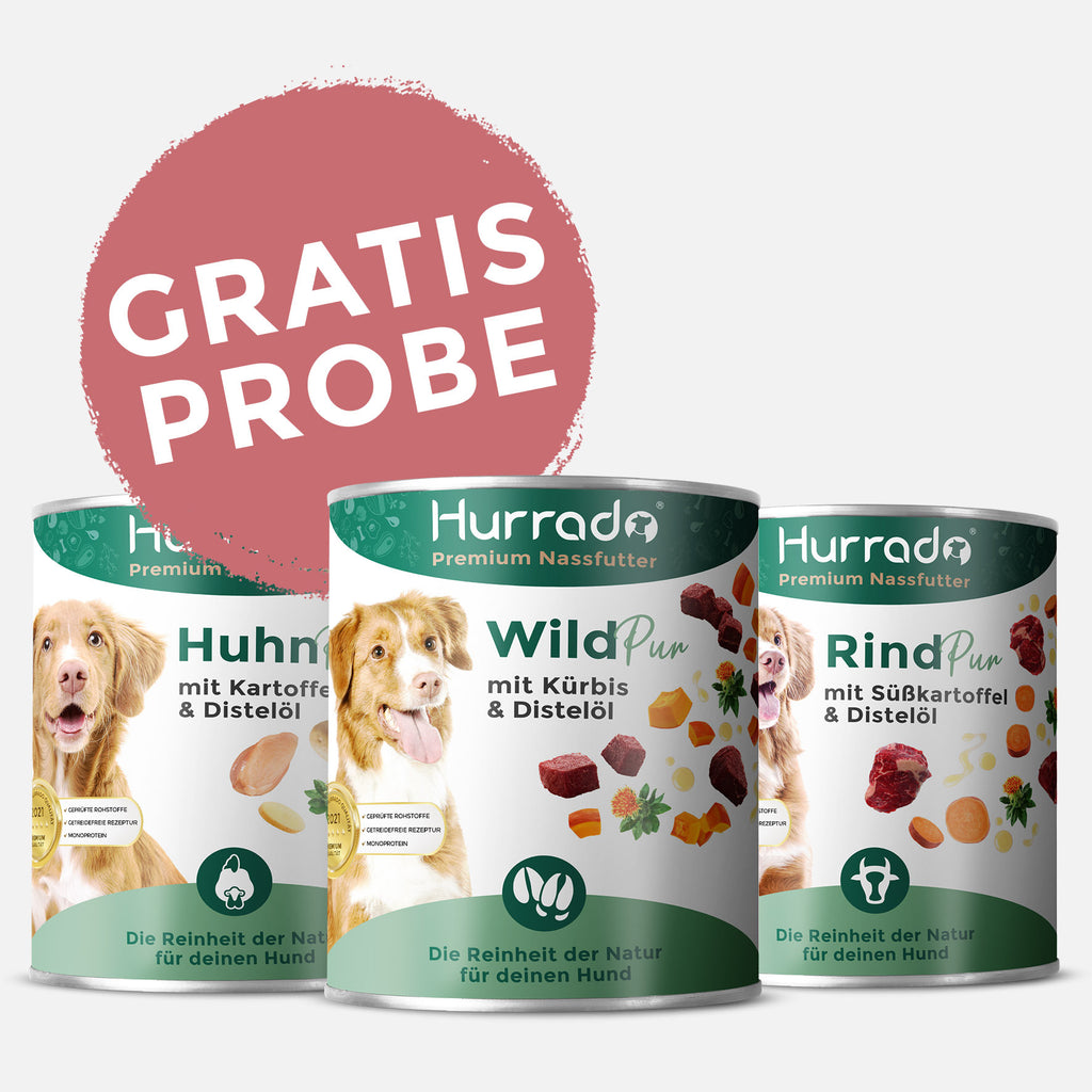 Gratis Nassfutter Probe