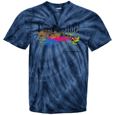 CD100 100% Cotton Tie Dye T-Shirt- I'm Possible - GBB Inspirations