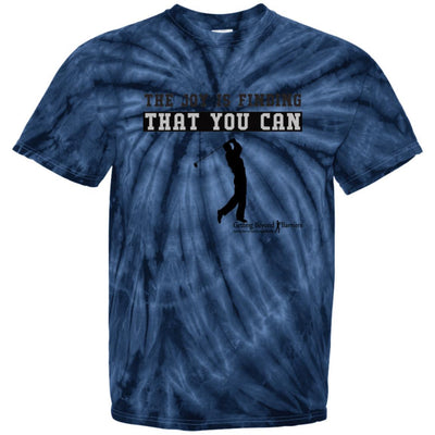 CD100 100% Cotton Tie Dye T-Shirt-The Joy Is Finding That You Can - GBB Inspirations
