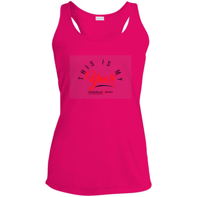 LST356 Ladies' Racerback Moisture Wicking Tank - GBB Inspirations