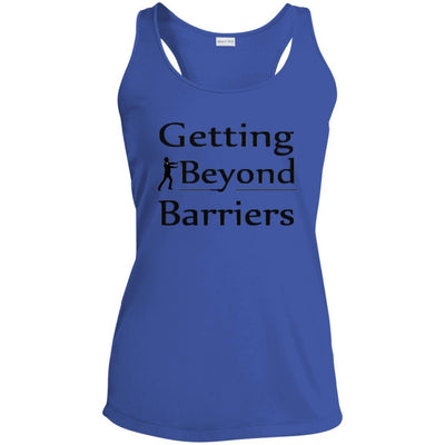 LST356 Ladies' Racerback Moisture Wicking Tank-GBB 1 Tee Design - GBB Inspirations