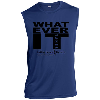 ST352 Sleeveless Performance T-Shirt - GBB Inspirations