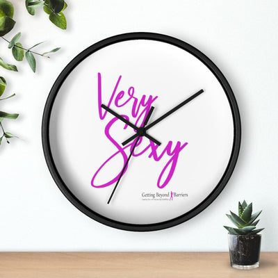 Wall clock-Very Sexy Pink - GBB Inspirations