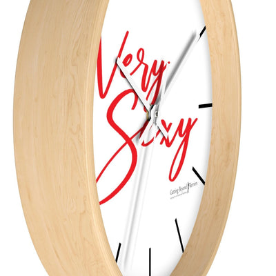 Wall clock-VERY SEXY Red - GBB Inspirations