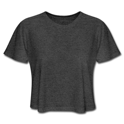Women's Cropped T-Shirt-Plain - GBB Inspirations