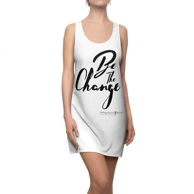 Women's Cut & Sew Racerback Dress Be The Change - GBB Inspirations