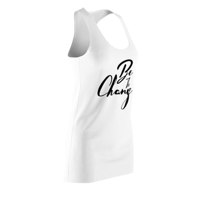 Women's Cut & Sew Racerback Dress_Be The Change - GBB Inspirations