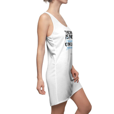 Women's Cut & Sew Racerback Dress There Is No Failure Only Learning - GBB Inspirations