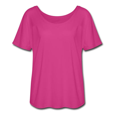 Women's Flowy T-Shirt-Plain 4 Colors - GBB Inspirations