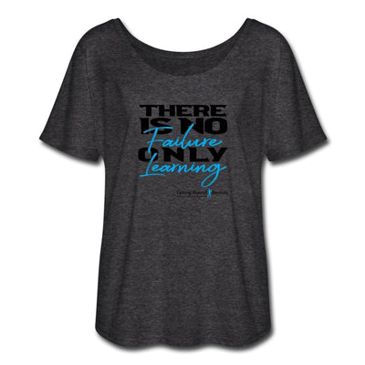 Women's Flowy T-Shirt-There Is No Failure Only Learning - GBB Inspirations