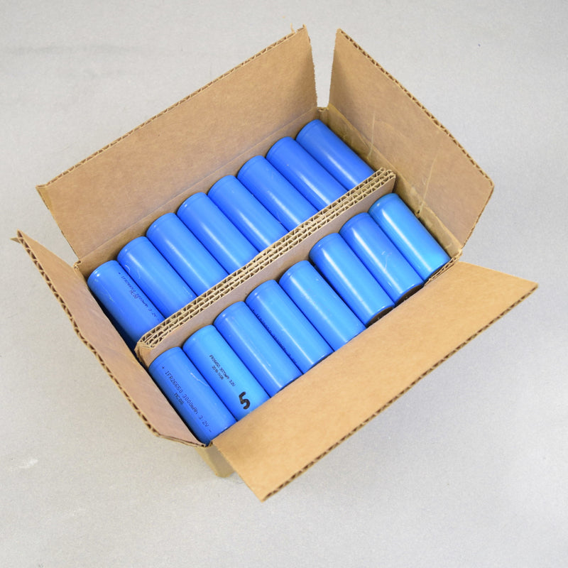 20 loose cells) Used IFR26650 LiFeP04 3.2v 3000mAh