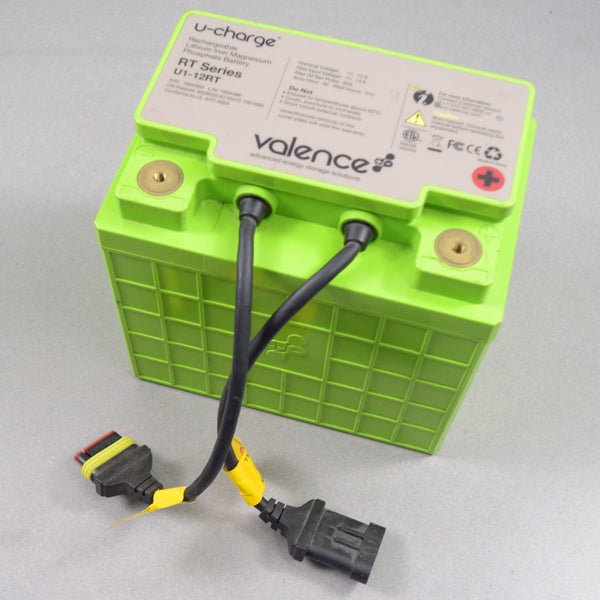 Valence Lithium Battery U1-12RT | 12V 40AH (tested at 37 Ah)