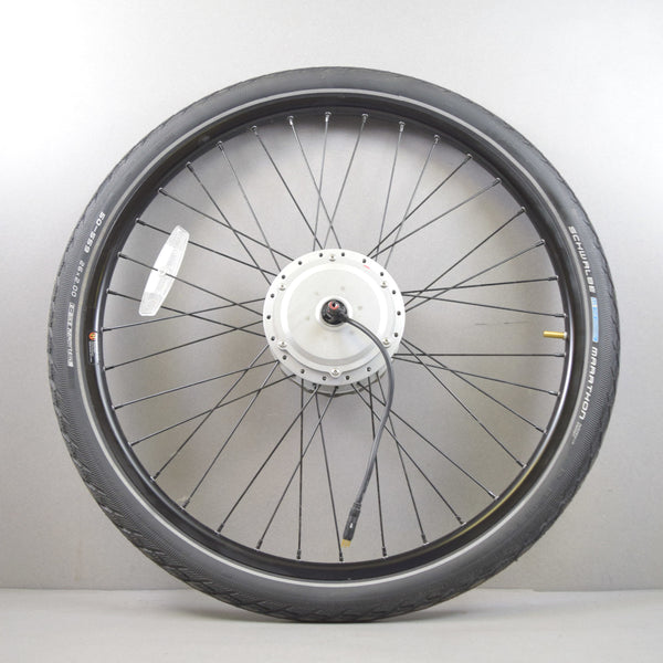 "26"" BAFANG DC36V - electric bike wheel with tire &  Tektro disk break"