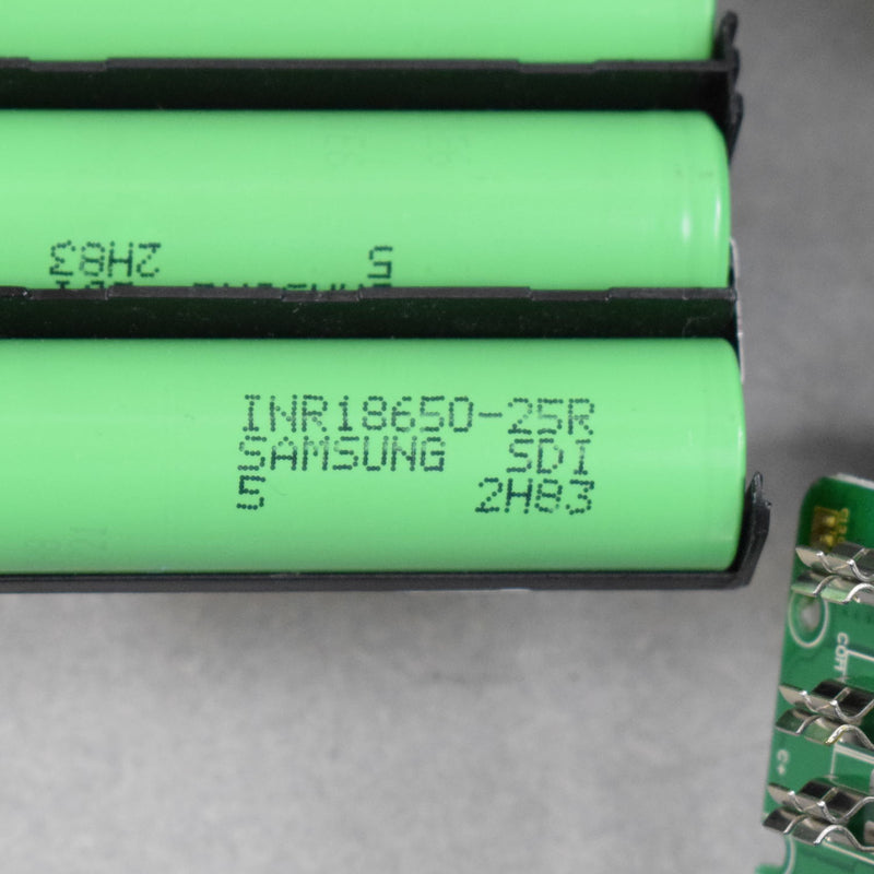 250 Samsung 25R 18650 Cells - 2500mAh Batteries in Tool Packs for Cell Recovery