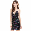 Multi Sequin Dress Black