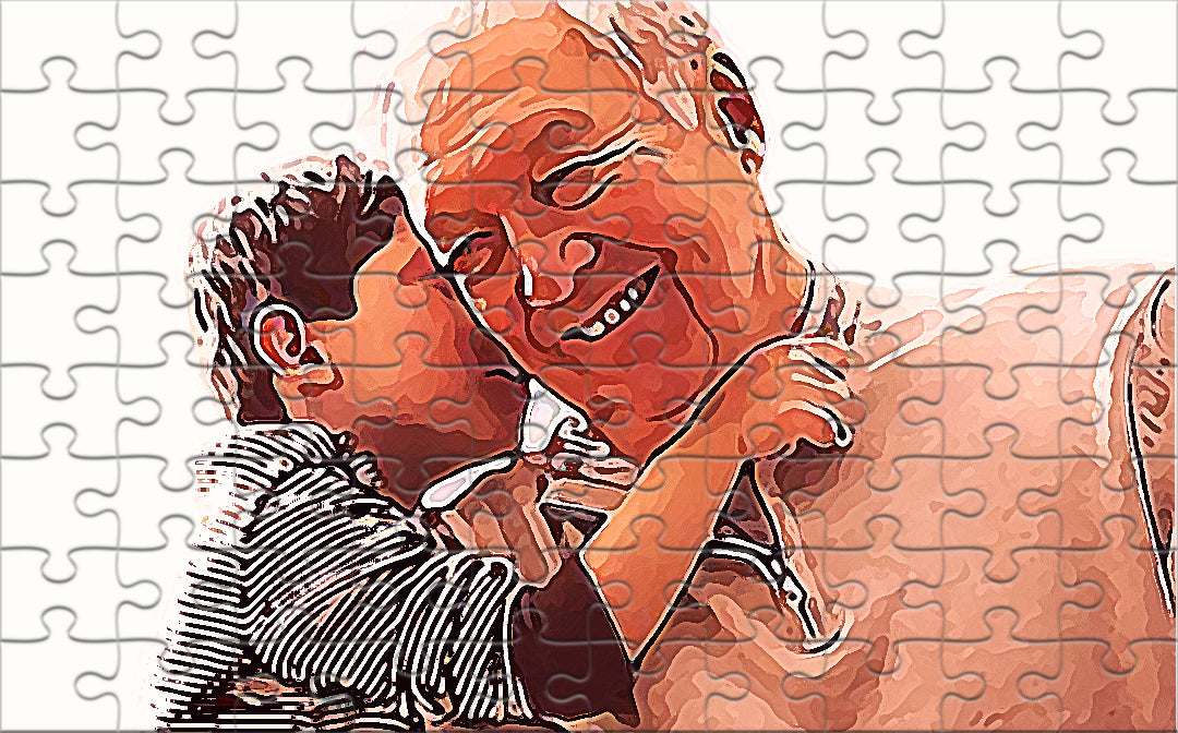 Customised puzzle picture