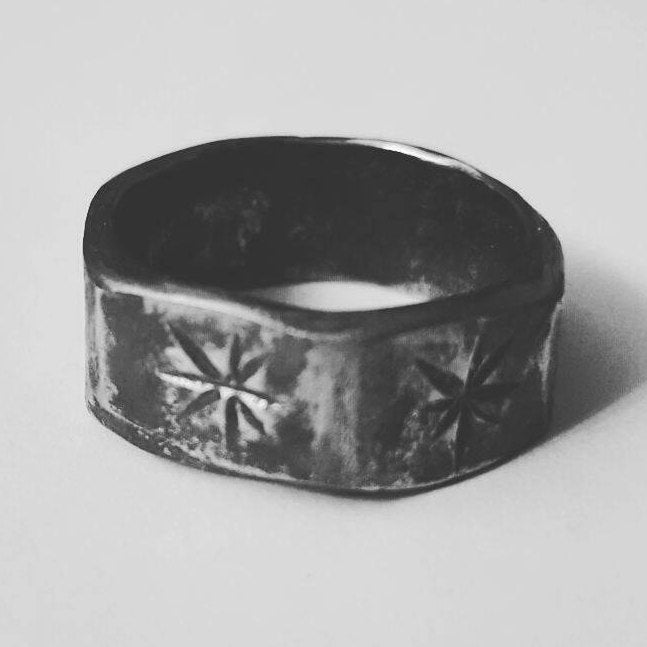 Stainless Steel Upcycled Nut Ring
