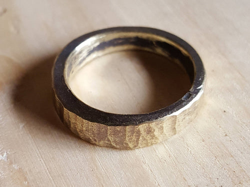 Forged Brass Ring