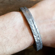 Load image into Gallery viewer, Rustic Titanium Cuff Bracelet
